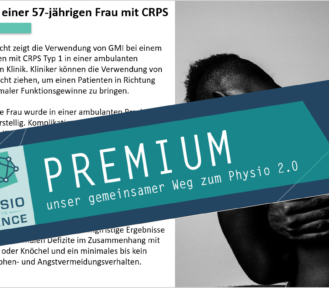 Graded Motor Imagery und Graded Exposure bei CRPS