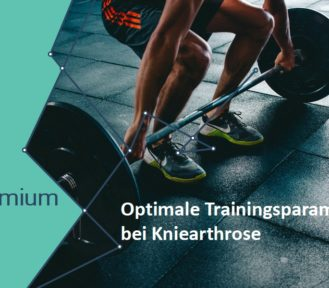 Optimale Trainingsparameter  bei Kniearthrose