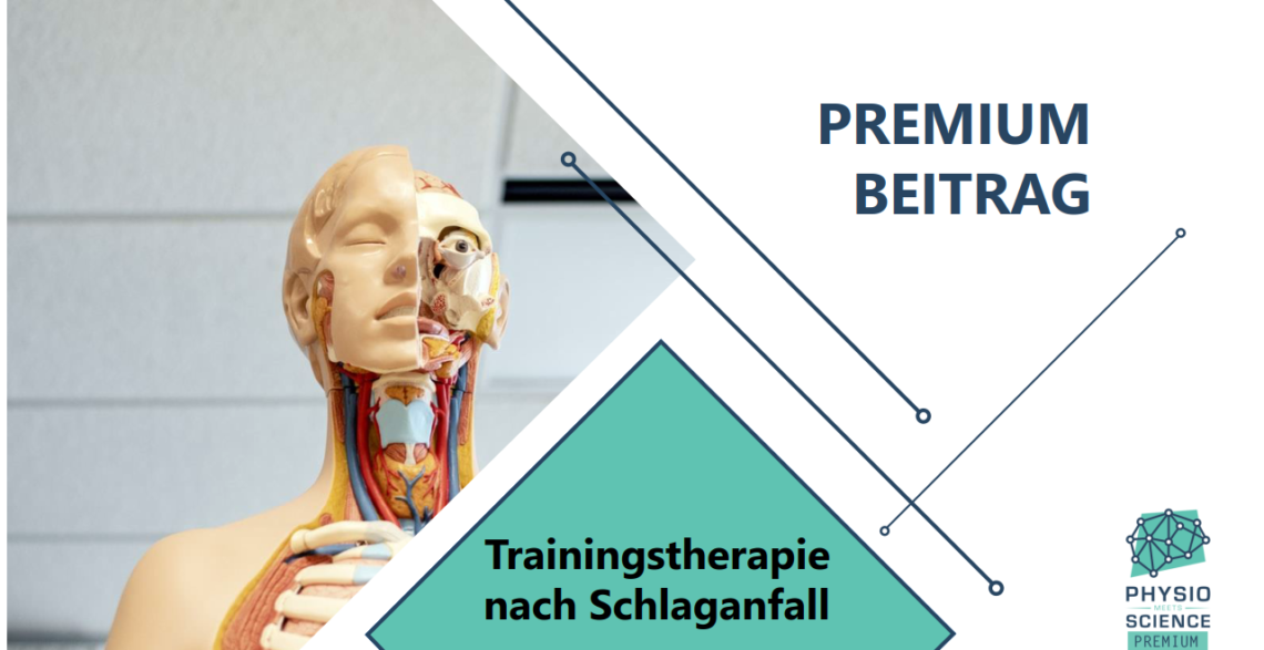 Trainingstherapie nach Schlaganfall