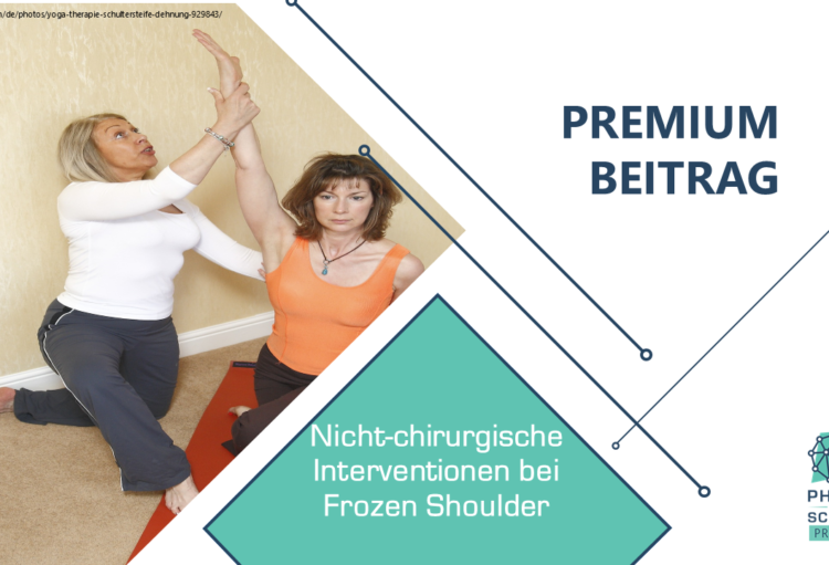 Nicht-chirurgische Intervention bei Frozen Shoulder
