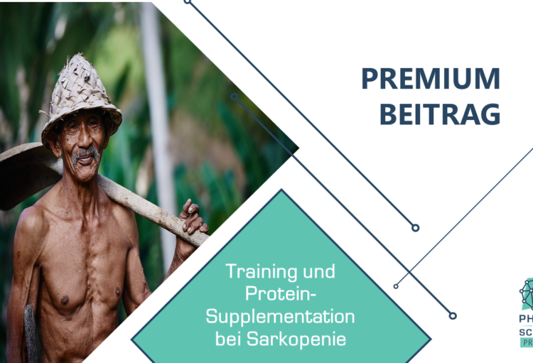 Training und Protein Supplementation bei Sarkopenie