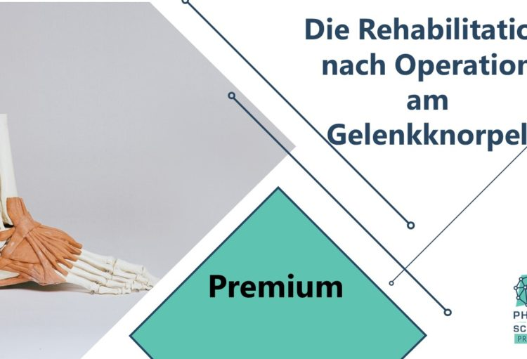 Rehabilitation nach Operation am Gelenkknorpel