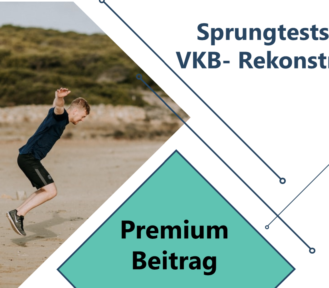 Sprungtests nach VKB Rekonstruktion
