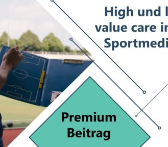High und low value care in der Sportmedizin