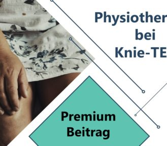 Physiotherapie bei Knie-TEP