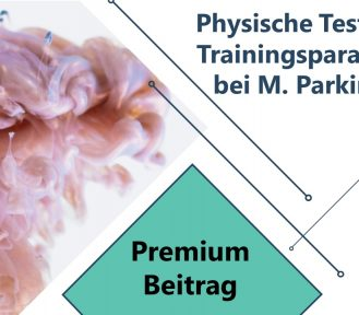 Physische Tests und Trainingsparameter bei M. Parkinson