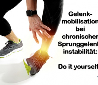 Do it yourself – MT bei chronischer Sprunggelenkinstabilität