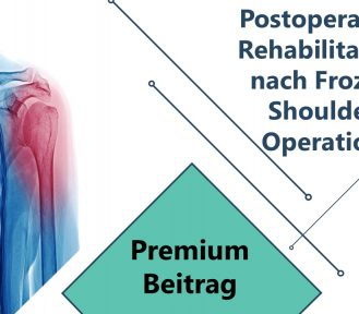 Postoperative Rehabilitation nach Frozen Shoulder Operation