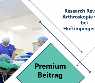 Research Review: Arthroskopie vs PT bei Hüftimpingement