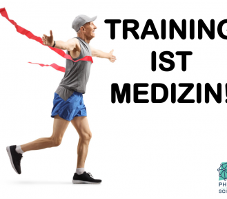 Training ist Medizin! Exercise is medicine!
